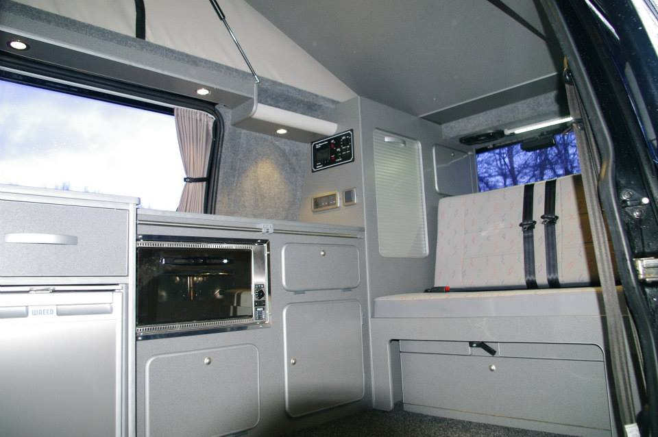 New Vw Camper Van >> VW T4 Twin Sliding Door Conversion with Buddy Seat   AJC