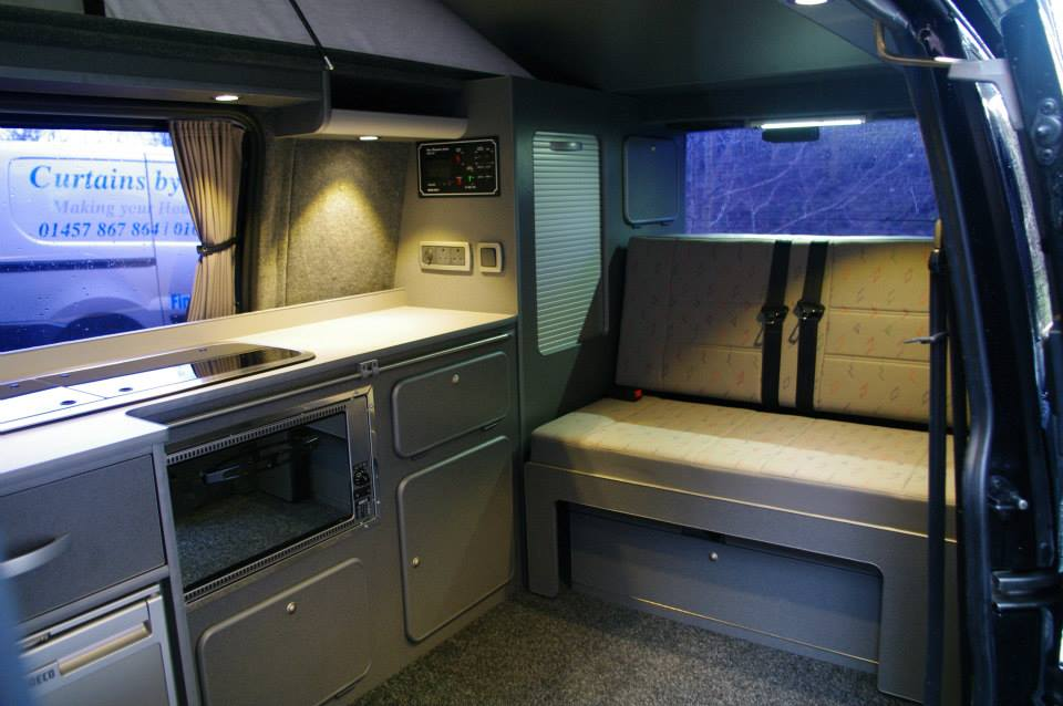 Vw T4 Twin Sliding Door Conversion With Buddy Seat Ajc