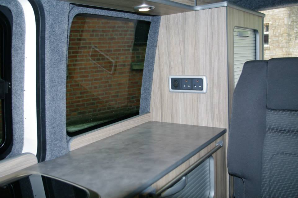 Vw T5 Swb Conversion With Reimo Elevating Roof Ajc
