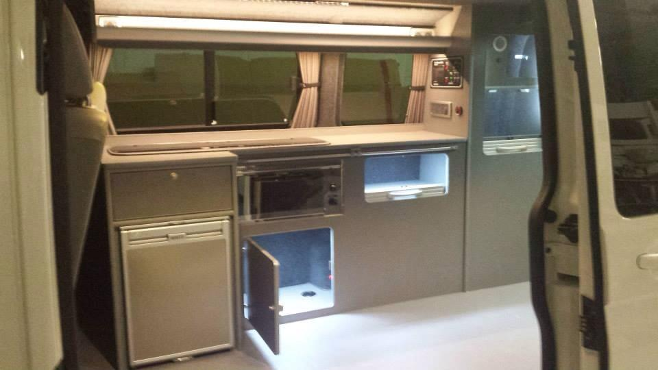 T5 SWB Conversion with RIB Slider Bed, Heater & Units in Puntinella 1