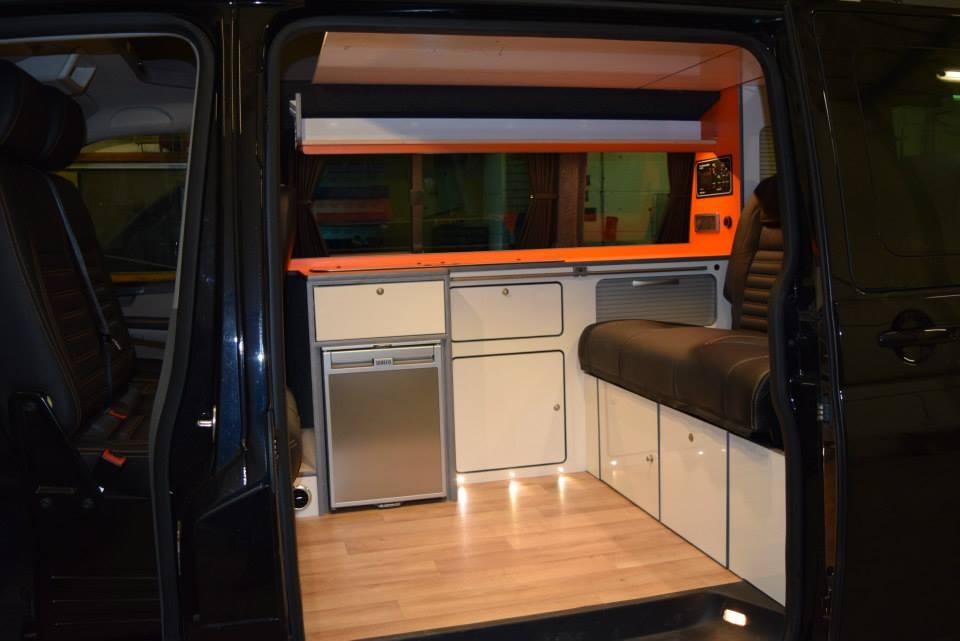Factory Kombi Conversion White, Orange & Black with RIB drawer 2