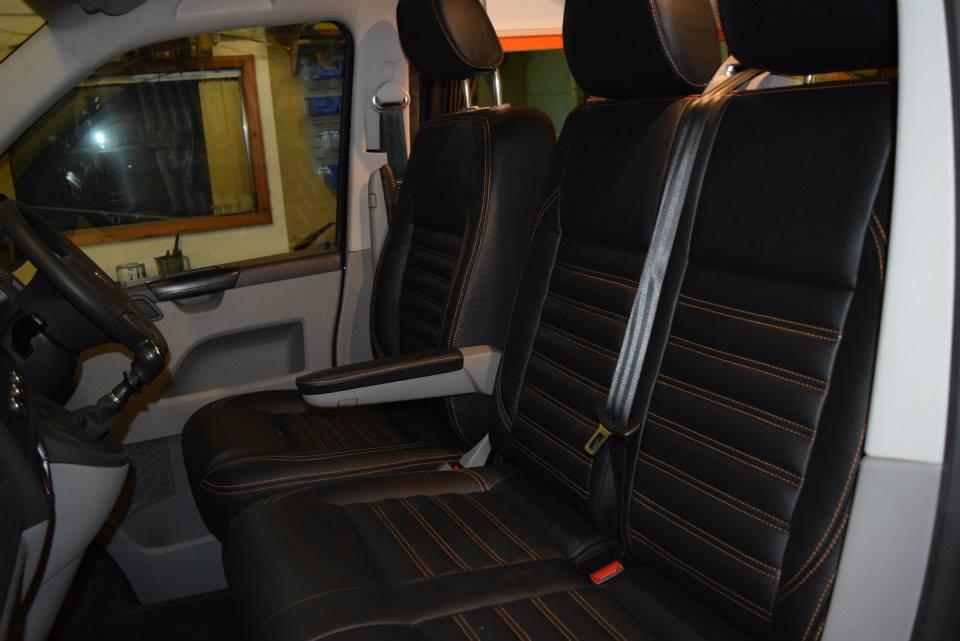Factory Kombi Conversion White, Orange & Black with RIB drawer 3