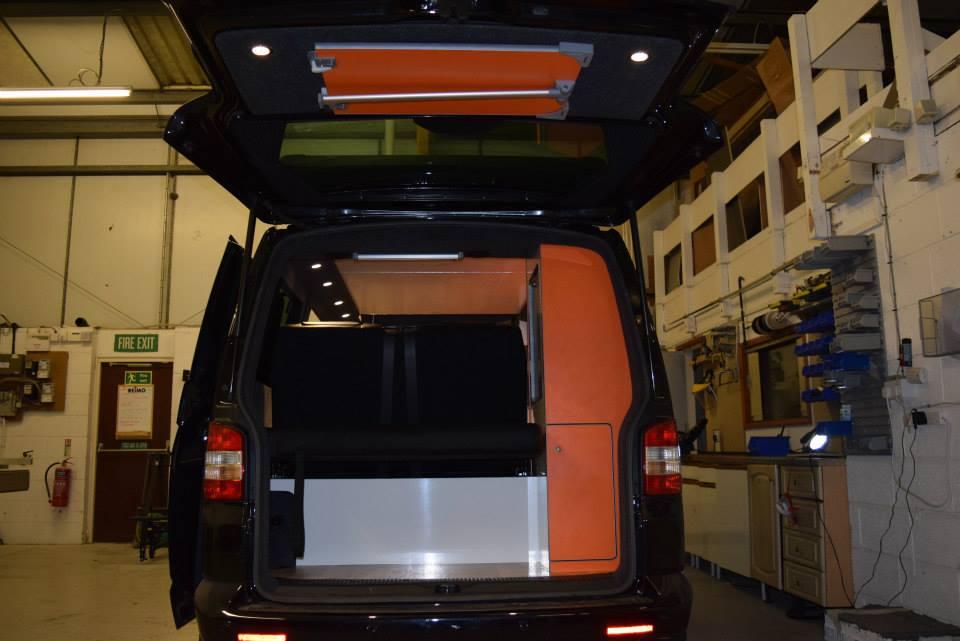 Factory Kombi Conversion White, Orange & Black with RIB drawer 6