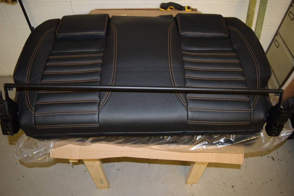 Factory Kombi Conversion White, Orange & Black with RIB drawer 7