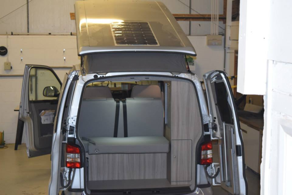 T5 SWB Driftwood Conversion, Solar Panel, Heater & 2 x Leisure Batteries 7